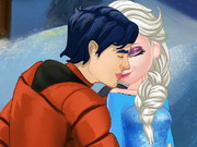 Online igrica Elsa And Ken Kissing