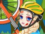 Elza bicikli doktornál