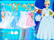 Online game Elsa Bride Makeover