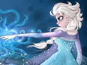 Elsa Collect Snowflakes