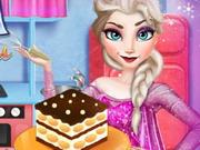 Online igrica Elsa Cooking Tiramisu free for kids