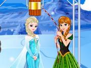 Online game Elsas Ice Bucket Challenge
