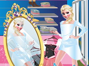 Online game Elsa Shopping