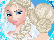 Online game Elsa Wedding Braids