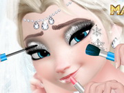 Online game Elsa Wedding Makeup School