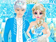 Online game Elsa Wedding