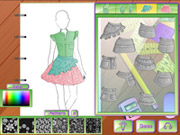 Online game Fashion Studio Gardening Outfit