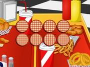 Online igrica Fast Food Memory