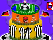 Online game Football Cake Decor