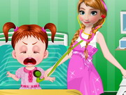 Online game Frozen Anna Baby Doctor