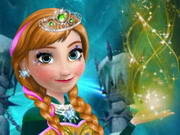 Online game Frozen Anna Ball Prep