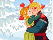 Online igrica Frozen Anna Kissing