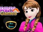 Online game Frozen Anna Manicure