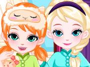 Frozen Baby Sisters Bedtime