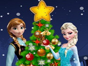 Online igrica Frozen Christmas Tree