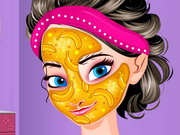 Online game Frozen Elsa Banana Facial
