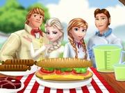 Online igrica Frozen Family Picnic