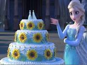 Online game Frozen Fever Cake
