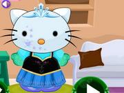 Online igrica Frozen Hello Kitty Dress Up