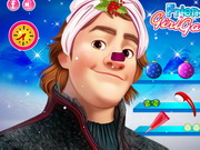 Online game Frozen Kristoff Christmas Make Up