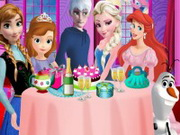 Online igrica Frozen Party