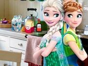 Online game Frozen Princess Kitchen