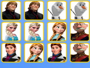 Online game Frozen Princess Memory Puzzle