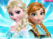 Online game Frozen Sisters