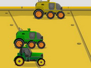 Online game Futuristic Tractor Racing