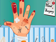 Online game Hand Surgery