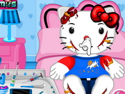 Online game Hello Kitty Bicycle Accident