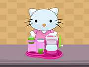 Online game Hello Kitty Chef Ice Cream Maker