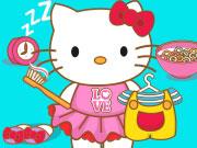 Igrica za decu Hello Kitty Goes To School