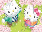 Online game Hello Kitty In Love