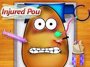 Online game Injured Pou