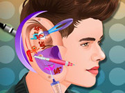 Igrica za decu Justin Bieber Ear Infection