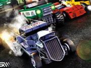 Lego kamionokkal a pályákon