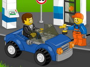 Online game Lego Gas Station