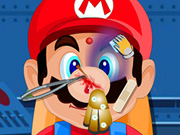 Online game Mario Head Injury