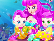 Online game Mermaid Gives Birth Twins