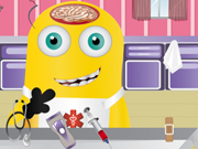 Online igrica Minion brain surgery