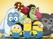 Online game Minions Hunt Monsters