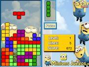 Online game Minions Tetris