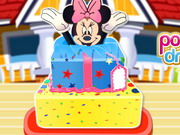 Online igrica Minnie Mouse Surprise Cake