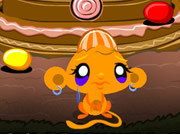 Online game Monkey Go Happy Easter