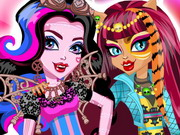 Monster High öltöztetős
