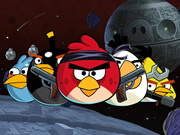 Online game Naughty Angry Birds