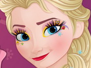 Online igrica Now And Then Elsa Makeup