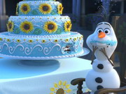 Online game Olaf Frozen Fever