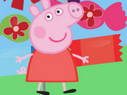 Online game Peppa Pig Candy Matching